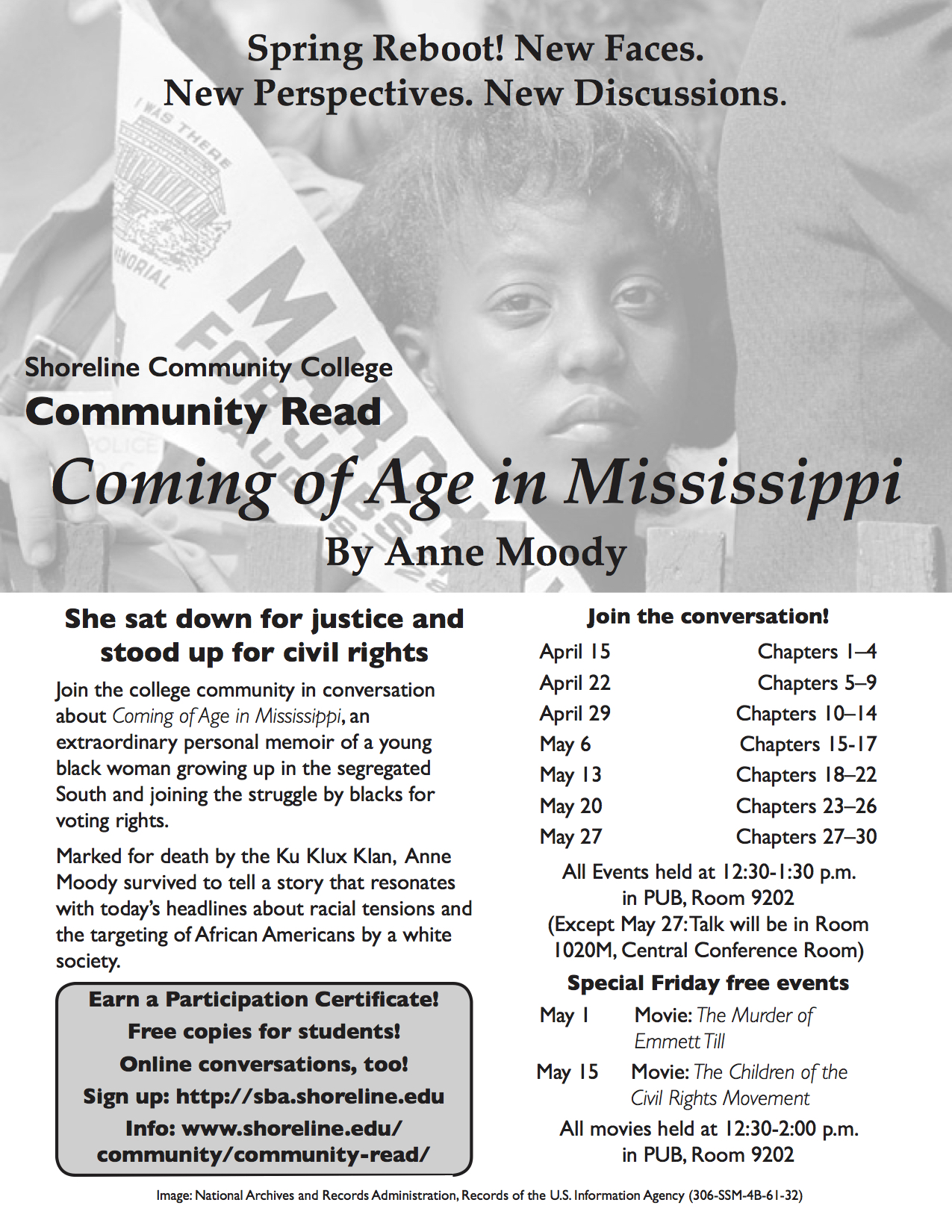 an analysis of the civil rights movement in coming of age in mississippi by anne moody Guidelines for paper historical analysis of the civil rights movement sources for this paper: anne moody, coming of age in mississippi (required text).
