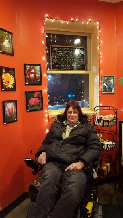 Shoreline CIEP student MJ Sizemore has a photography exhibit at Café Appassionato in Central Market, Shoreline.